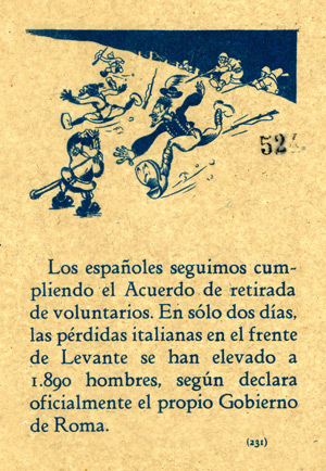 Spanish Civil War propaganda leaflet