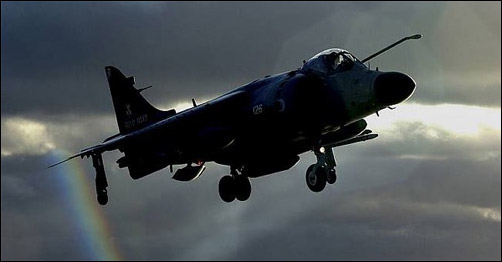 The Royal Navy Sea Harrier