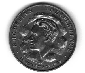 Rhodesian Independence Coin