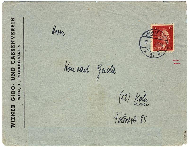 "The ""Infamous"" Cassenverein Envelope"