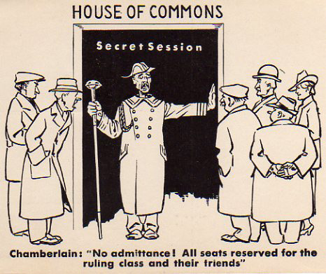 House of Commons Postcard