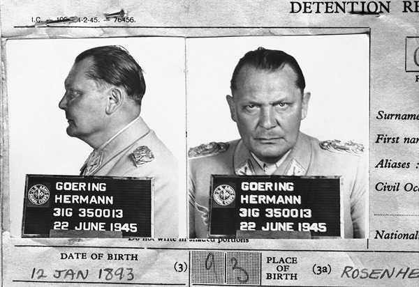 Göring meets his face
