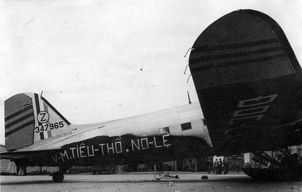 The C-47 Speaker in Indochina, used by the French army in December 1952
