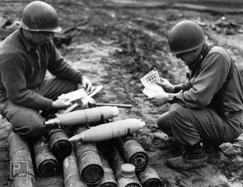 Image result for ww2 us 105 shell