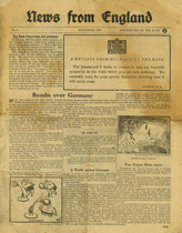 EH(C).600/1, News from England, No. 1, September 1940