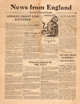 EH(C).600/2, News from England For the Channel Islands, No. 2, September 30, 1940