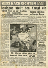 Random PSYOP leaflet - News for the Troops, No. 144, 7 September 1944