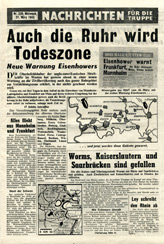 Random PSYOP leaflet - News for the Troops, No. 339, 21 March 1945