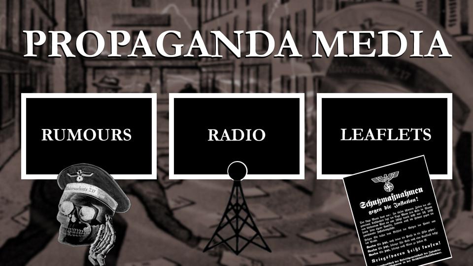 Risultati immagini per Gustav Siegfried Eins propaganda