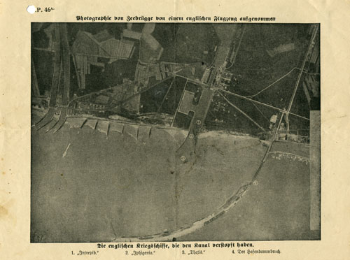 A.P. 46A, Photography of Zeebrügge taken by an English airplane