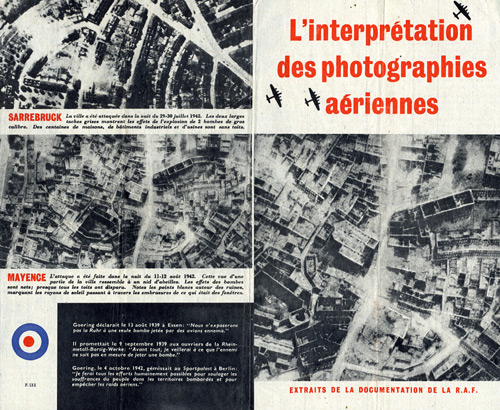 F.133 - The  Interpretation of Aerial Photographs - obverse