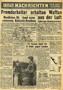 Nachrichten f�r die Truppe, T.163, 26 September 1944 - Click to enlarge