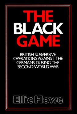 The Black Game by Ellic Howe