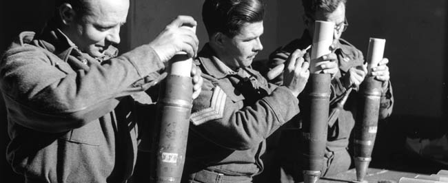 WWII: Reinvention of the propaganda artillery shell.